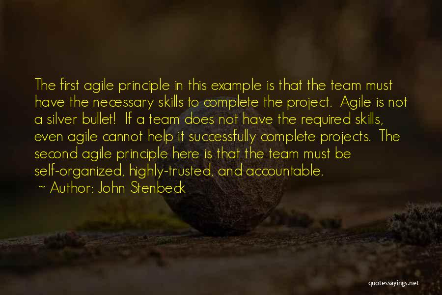 Agile Quotes By John Stenbeck