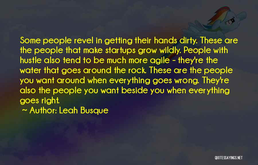 Agile Quotes By Leah Busque