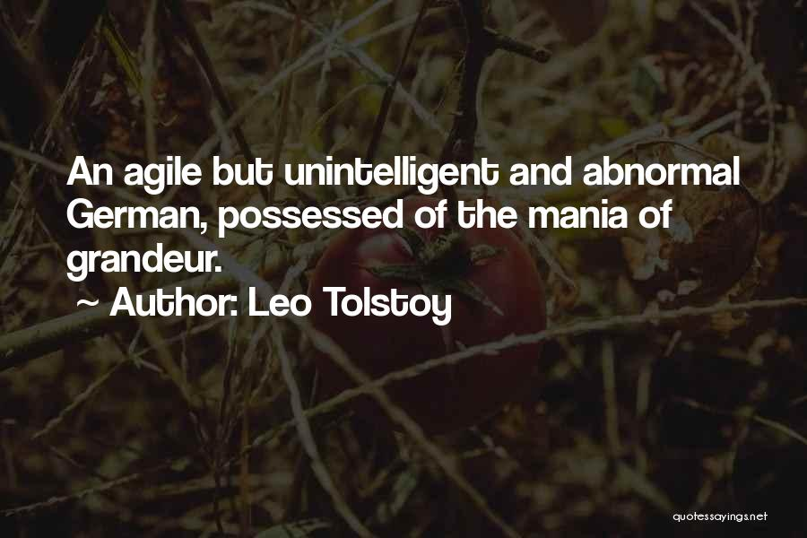Agile Quotes By Leo Tolstoy