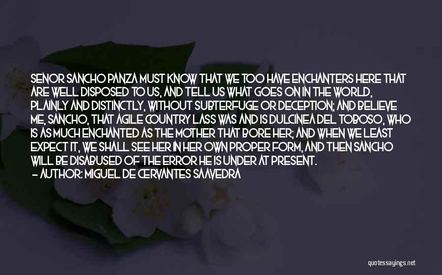Agile Quotes By Miguel De Cervantes Saavedra