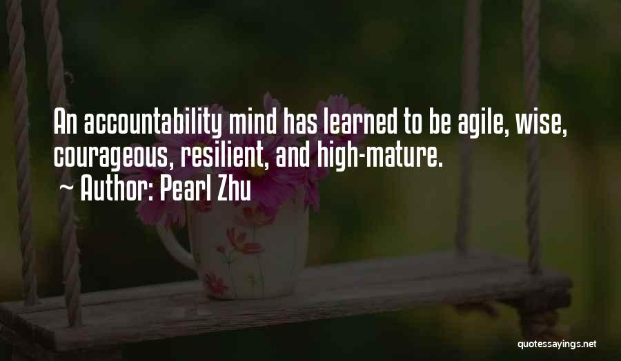 Agile Quotes By Pearl Zhu