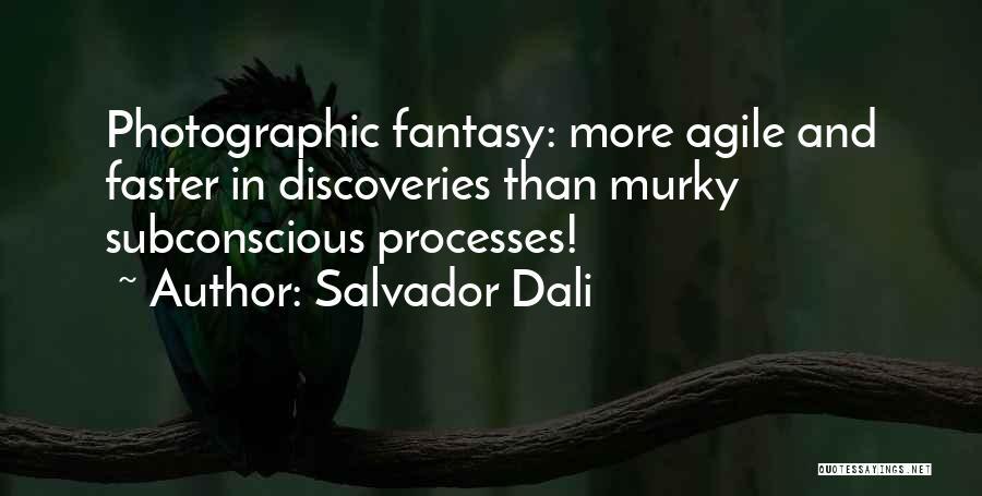 Agile Quotes By Salvador Dali