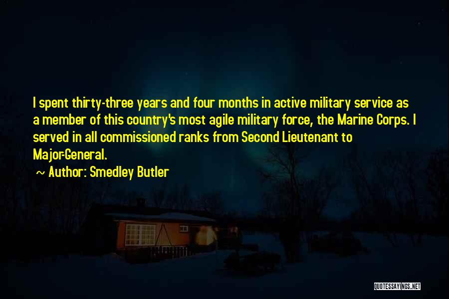 Agile Quotes By Smedley Butler