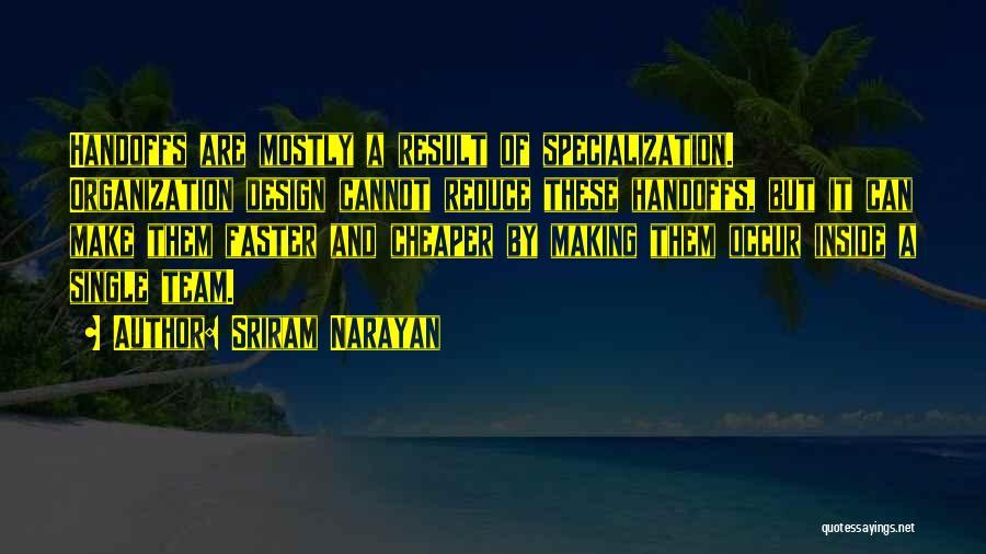 Agile Quotes By Sriram Narayan