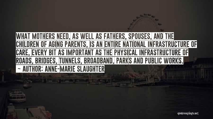 Aging Fathers Quotes By Anne-Marie Slaughter