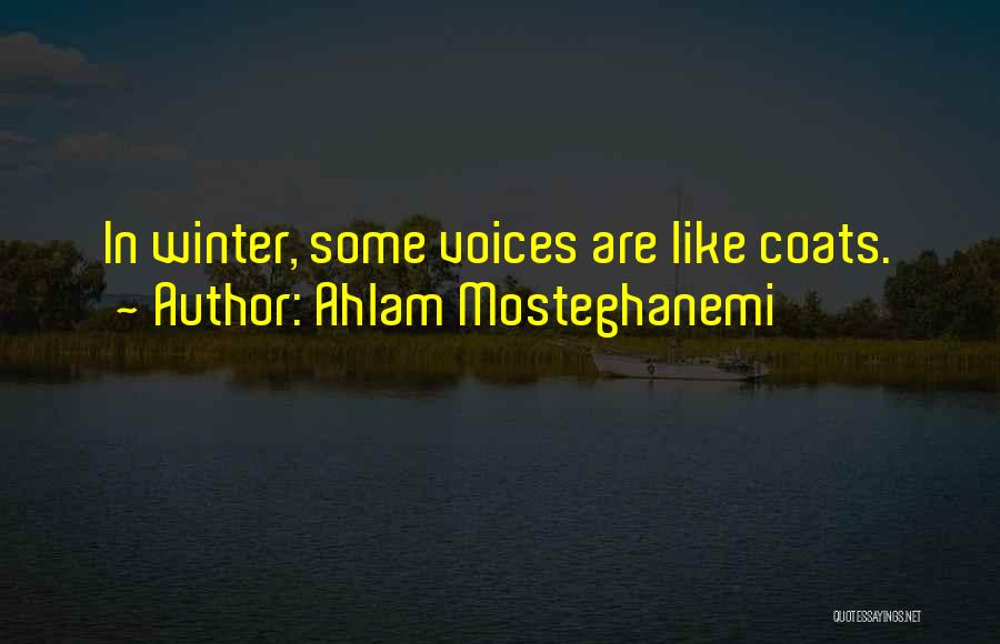 Ahlam Mosteghanemi Quotes 1350718