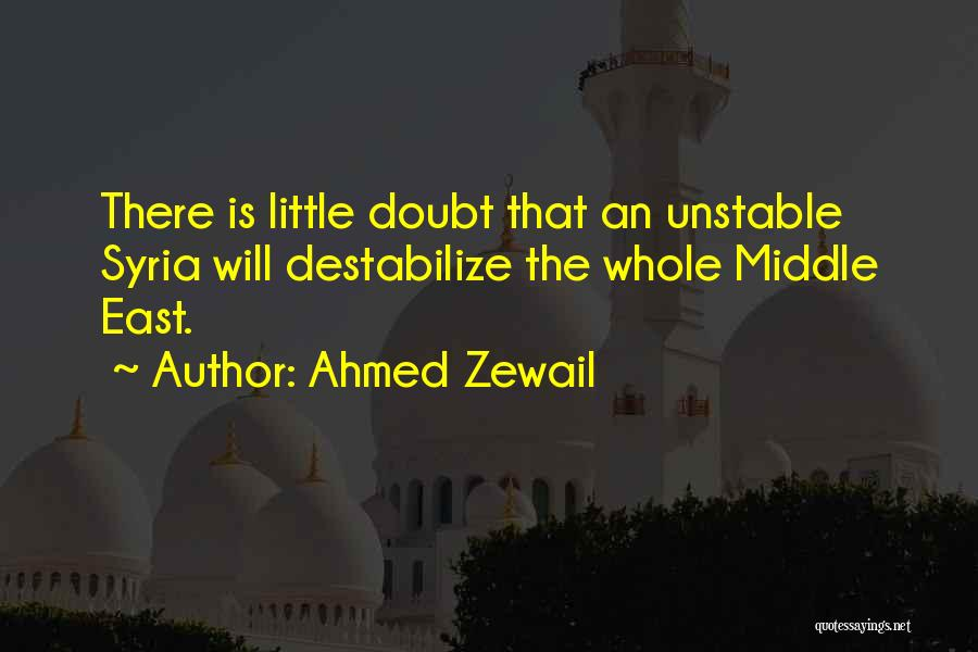 Ahmed Zewail Quotes 1558166