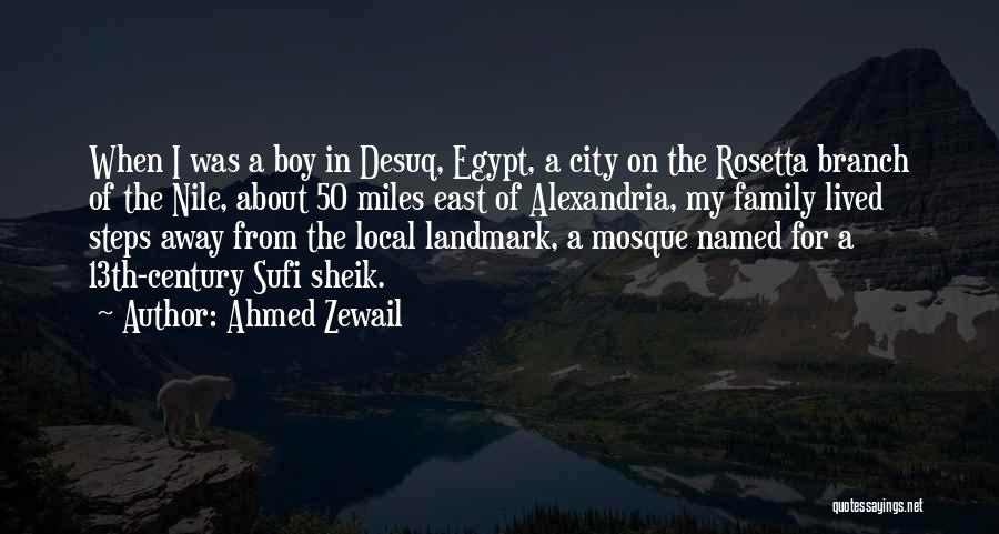 Ahmed Zewail Quotes 2117177