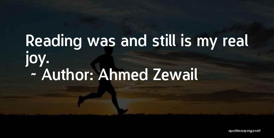 Ahmed Zewail Quotes 727397