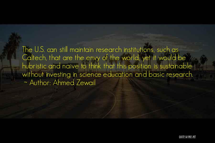 Ahmed Zewail Quotes 921948