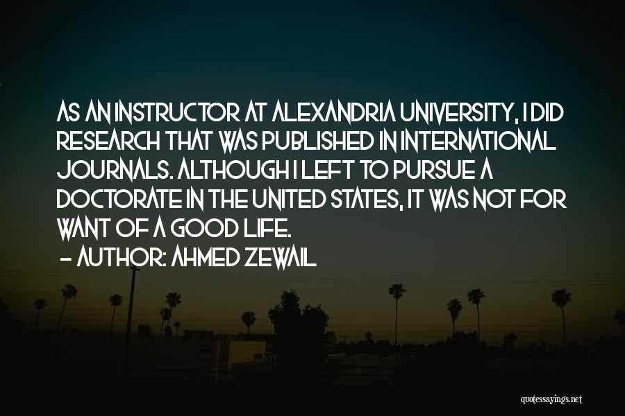 Ahmed Zewail Quotes 955983