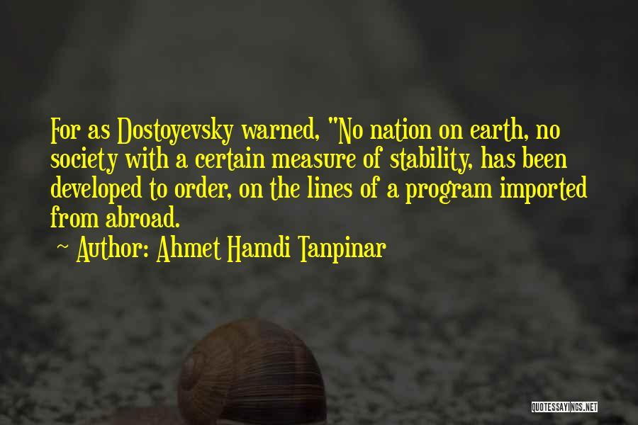 Ahmet Hamdi Tanpinar Quotes 1779897