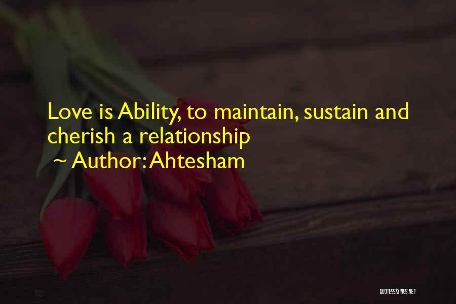 Ahtesham Quotes 2142052