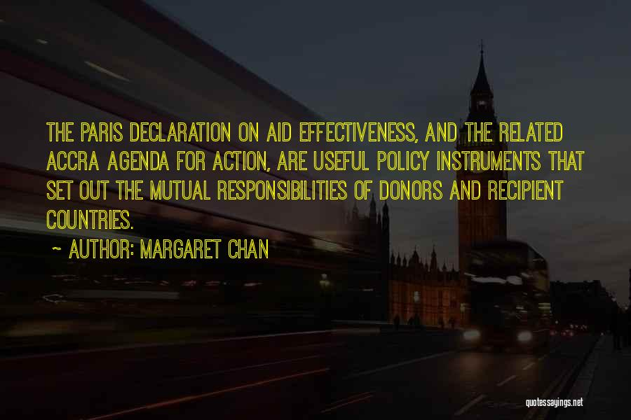 Aid Effectiveness Quotes By Margaret Chan