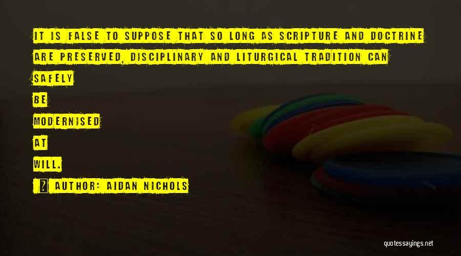 Aidan Nichols Quotes 309984