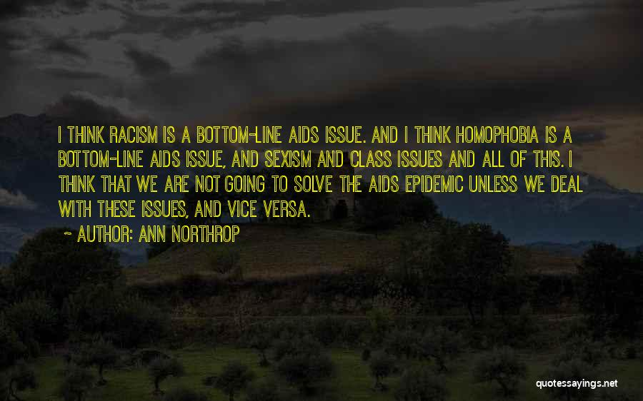 Aids Quotes By Ann Northrop