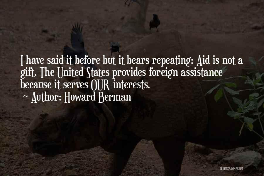 Aids Quotes By Howard Berman