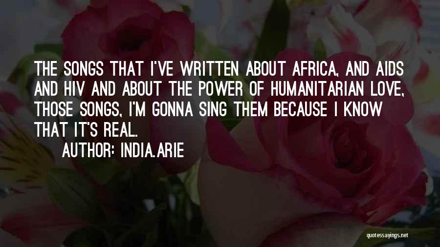 Aids Quotes By India.Arie