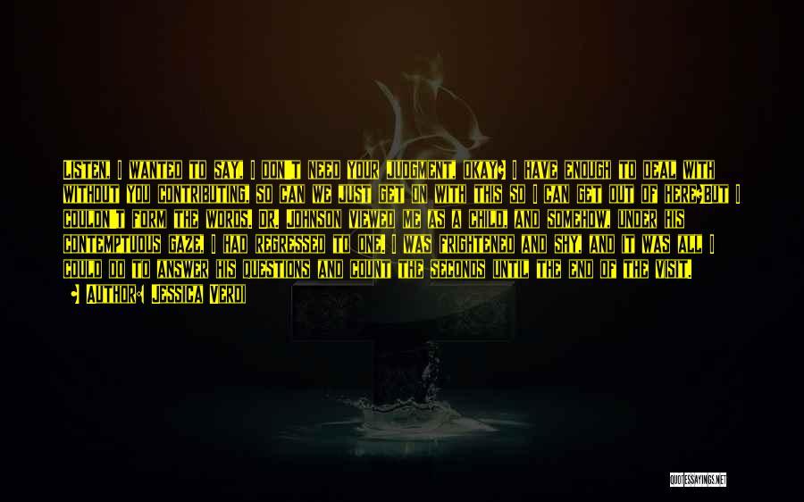 Aids Quotes By Jessica Verdi