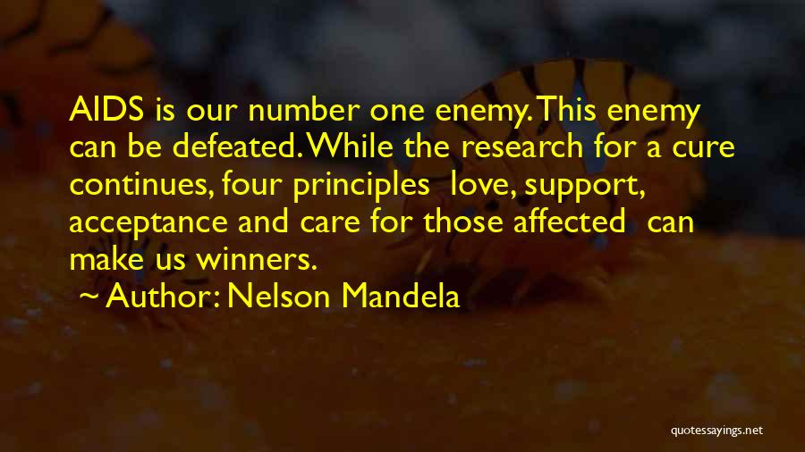 Aids Quotes By Nelson Mandela