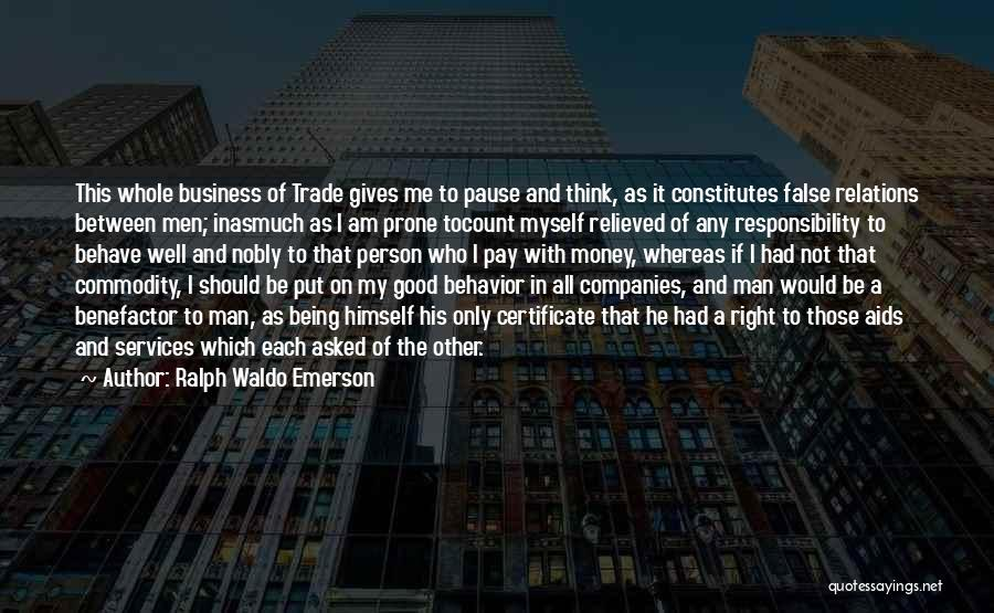 Aids Quotes By Ralph Waldo Emerson