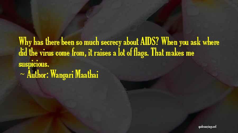 Aids Quotes By Wangari Maathai