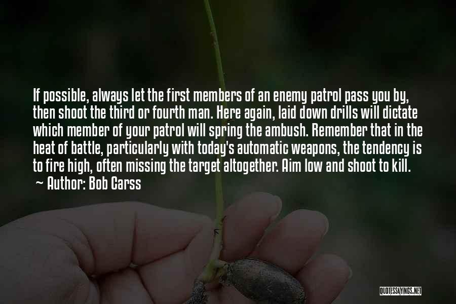 Aim Target Quotes By Bob Carss