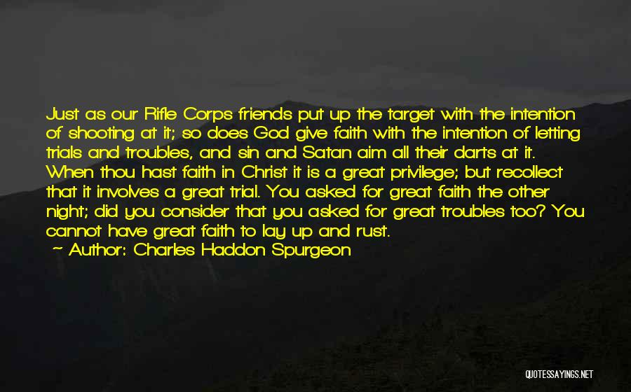 Aim Target Quotes By Charles Haddon Spurgeon