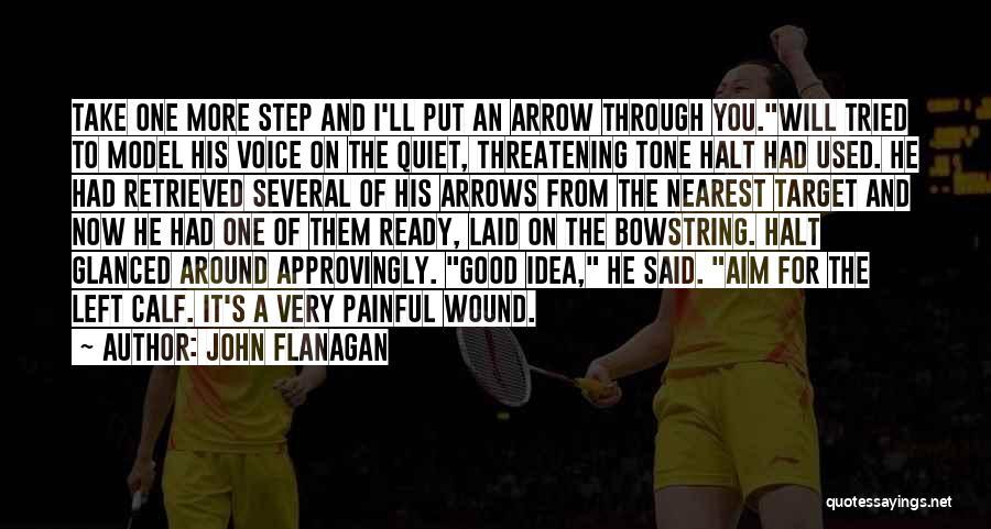 Aim Target Quotes By John Flanagan