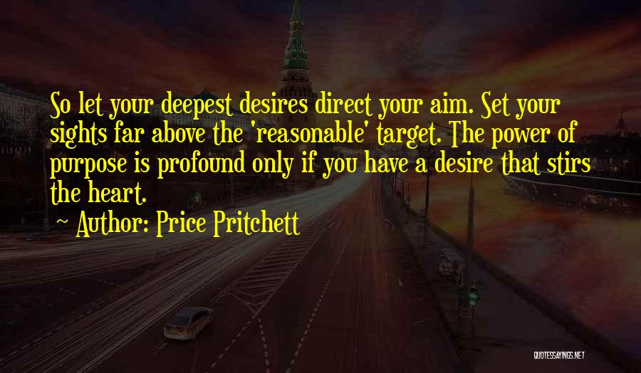 Aim Target Quotes By Price Pritchett
