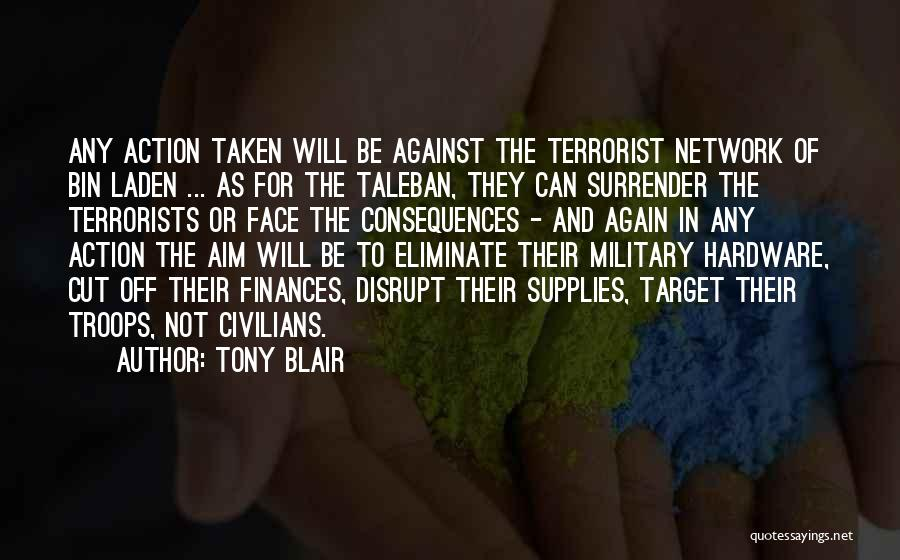 Aim Target Quotes By Tony Blair