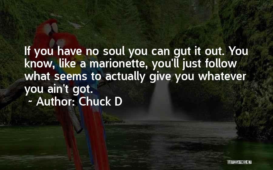 Ain't No Quotes By Chuck D