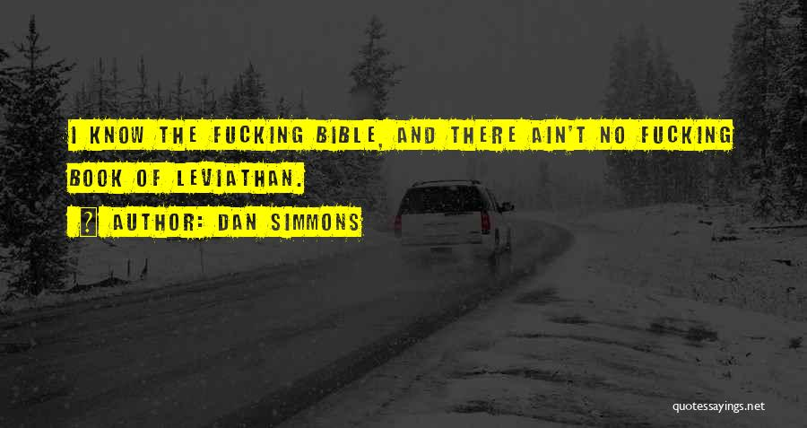 Ain't No Quotes By Dan Simmons
