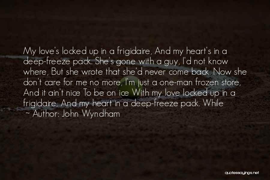 Ain't No Quotes By John Wyndham