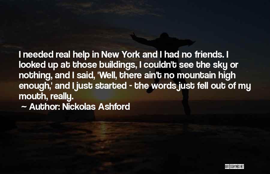Ain't No Quotes By Nickolas Ashford