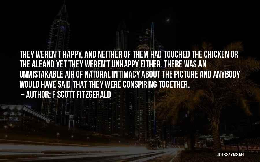Air And Love Quotes By F Scott Fitzgerald