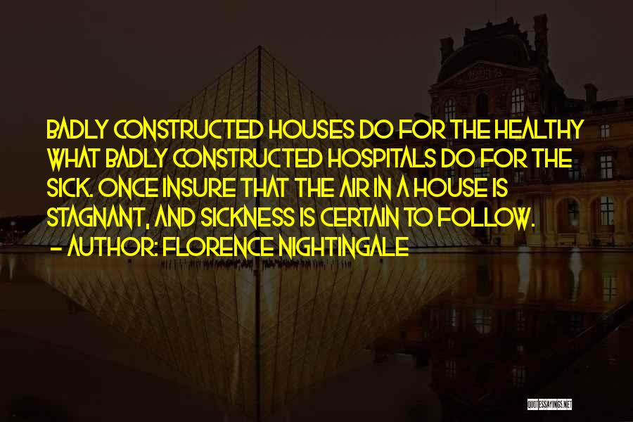 Air Sickness Quotes By Florence Nightingale