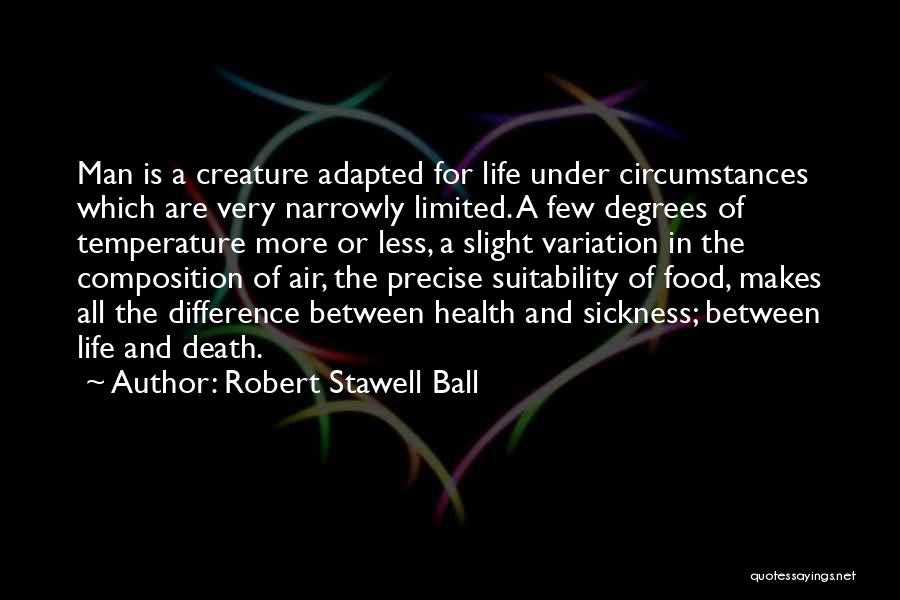 Air Sickness Quotes By Robert Stawell Ball
