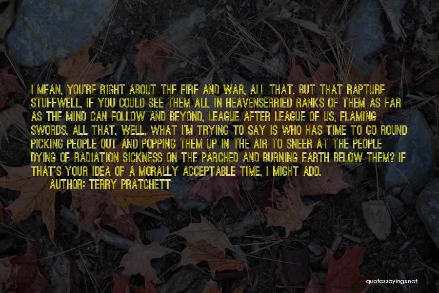 Air Sickness Quotes By Terry Pratchett