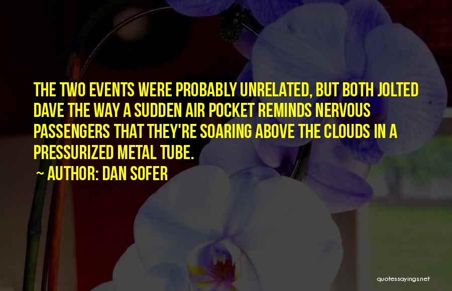Airplane Turbulence Quotes By Dan Sofer