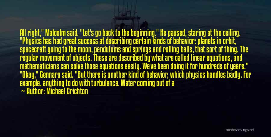 Airplane Turbulence Quotes By Michael Crichton
