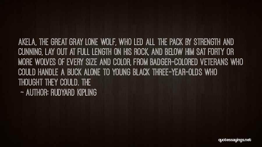 Akela Quotes By Rudyard Kipling