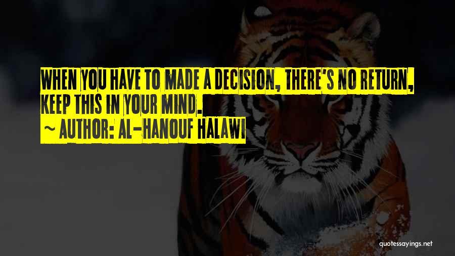 Al-Hanouf Halawi Quotes 330304
