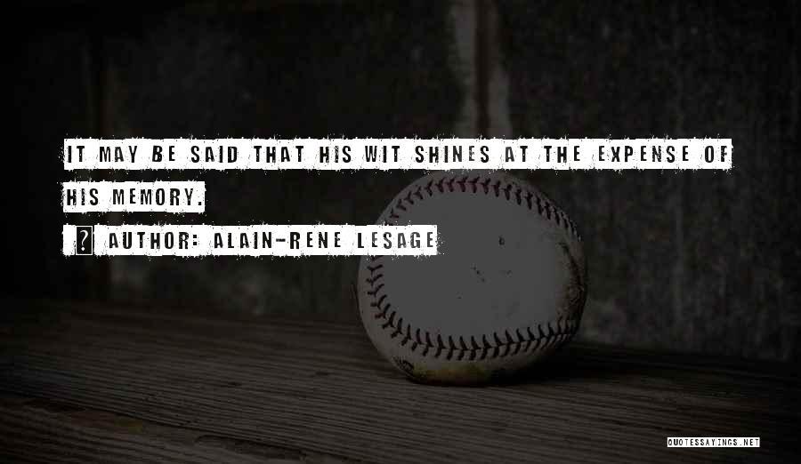 Alain-Rene Lesage Quotes 1240773