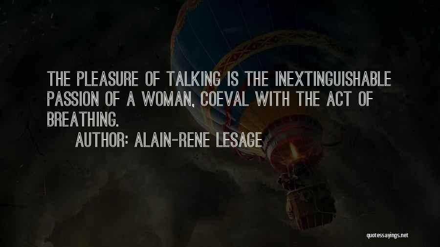 Alain-Rene Lesage Quotes 1400345