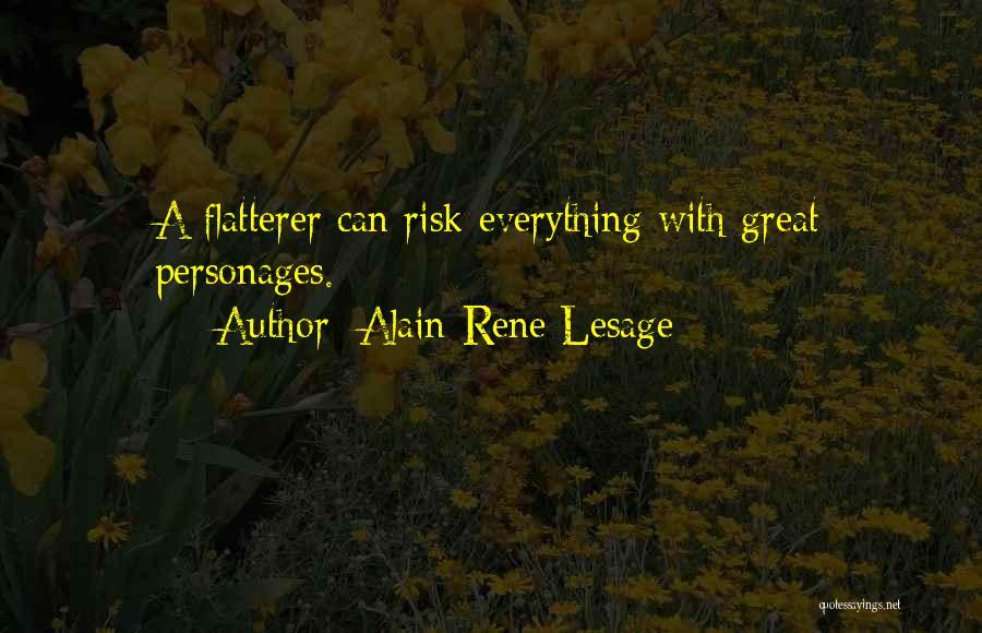 Alain-Rene Lesage Quotes 2066306