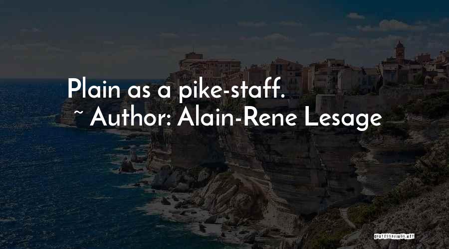 Alain-Rene Lesage Quotes 942345