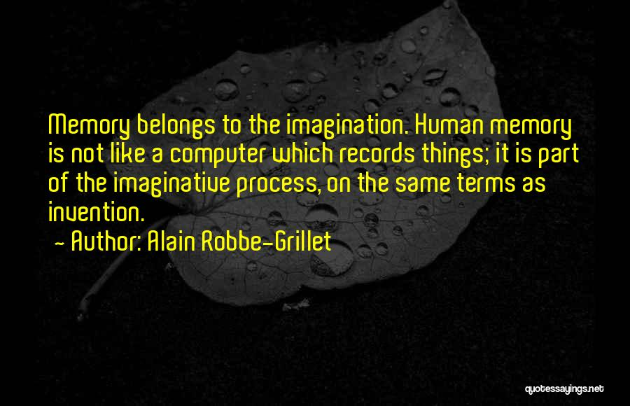 Alain Robbe-Grillet Quotes 1968615