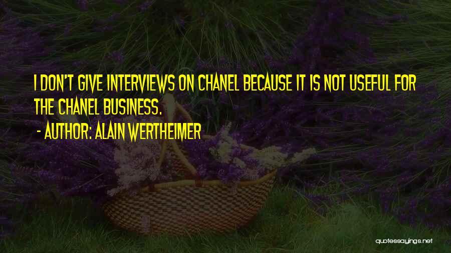 Alain Wertheimer Quotes 1423874
