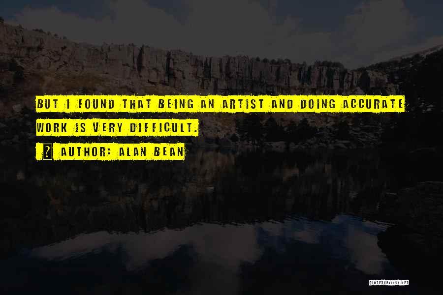 Alan Bean Quotes 358613
